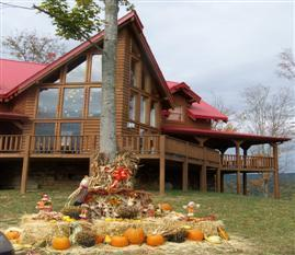 The Riverbluff in the fall